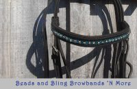 "Beads and Bling Browbands ""N More"