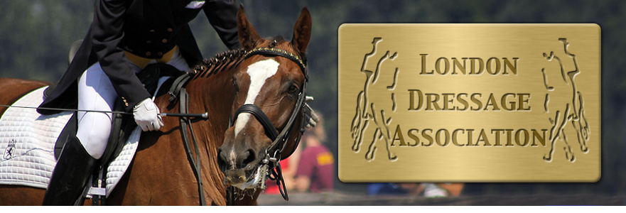 London Dressage Association Retina Logo